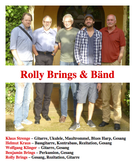 Rolly Brings & Band 2016